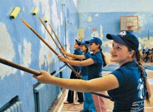 Воспитание трудовой активности среди подрастающего поколения